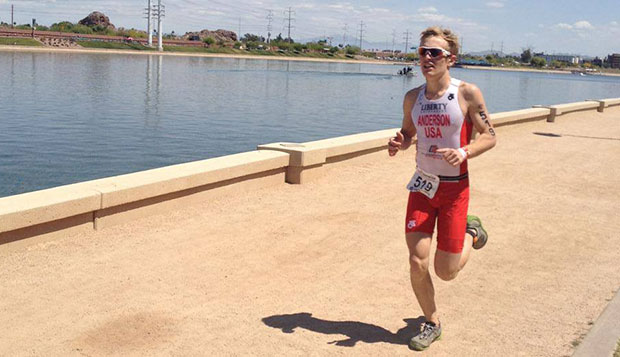 Flames junior Joey Anderson bettered his USA Triathlon Nationals place from 45th in 2012 and 31st last year to 25th on Saturday in Tempe, Ariz., capped by a 10K run time of 35:37. test test test test