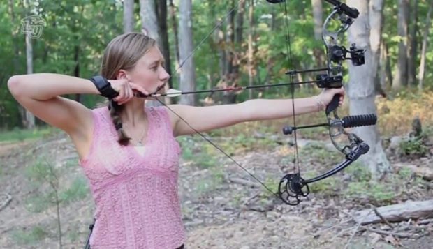 Madison Melton moved to Lynchburg from Goochland, Va.., to attend Liberty Christian Academy as an eighth-grader before picking up the sport of archery. test test test test