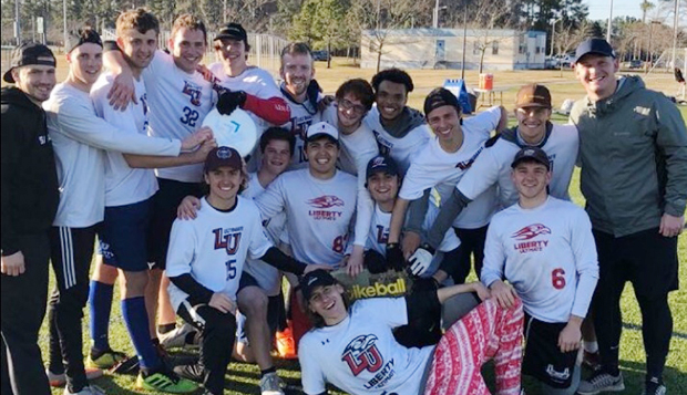 Men's Ultimate stages four upsets in Va. Beach for first title test test test test