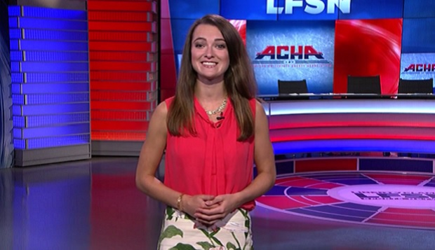 LFSN sideline reporter Monika McKenzie serves as host for both the ACHA DI men's and women's preseason shows, webcast live and tape-delayed through the Big South Network on Monday at 8 and 9 p.m., respectively. test test test test
