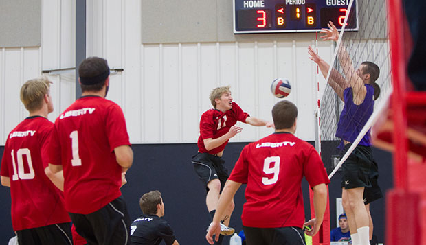 Host Flames finish three and out at EIVA men's tournament test test test test