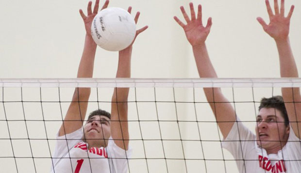 Setter Nick Williamson (1) served as captain for Redondo Beach High School as a senior, leading it to the state quarterfinals. test test test test