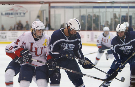 Men's hockey wins game against No. 1 Penn State test test test test