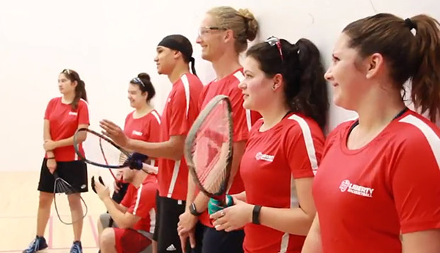 Liberty sent its largest team to date to USA Racquetball's Intercollegiate National Championships in Minneapolis, Minn. test test test test