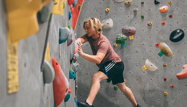 Climbers find ways to stay active in preparation for 2020-21 test test test test