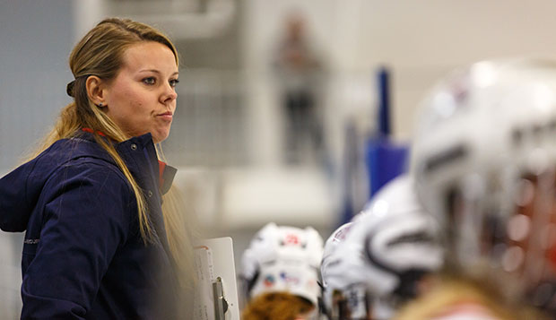 Liberty fifth-year Head Coach Sara Niemi is hopeful the Lady Flames will improve on their 1-8-2 record this season. test test test test