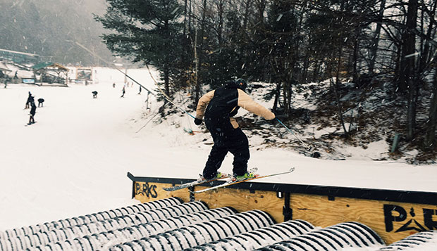 Flames snowboarders third, skiers fourth in USCSA Rail Jam test test test test