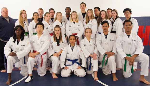 Tae kwon do fighters compete at MIT, UNC tournaments test test test test