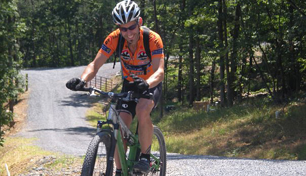 Van Phillips, one of two new Liberty assistant cycling coaches, is a mechanic at Bikes Unlimited who has raced mountain bikes, cyclocross, and road bikes and competed in triathlons. test test test test