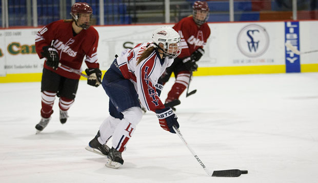 Women's hockey earns second-straight over UMass test test test test