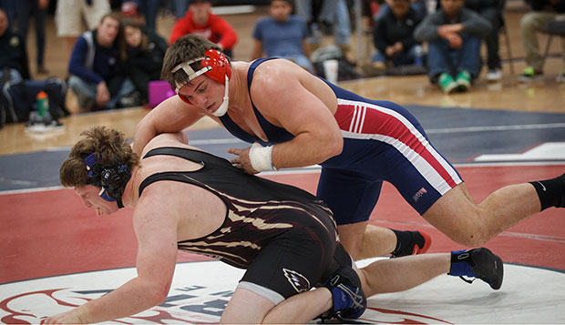Flames wrestlers sweep past JMU, Bridgewater, VMI   test test test test