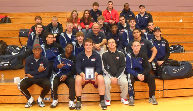 Flames take second at MTSU Duals, continue strong season  test test test test