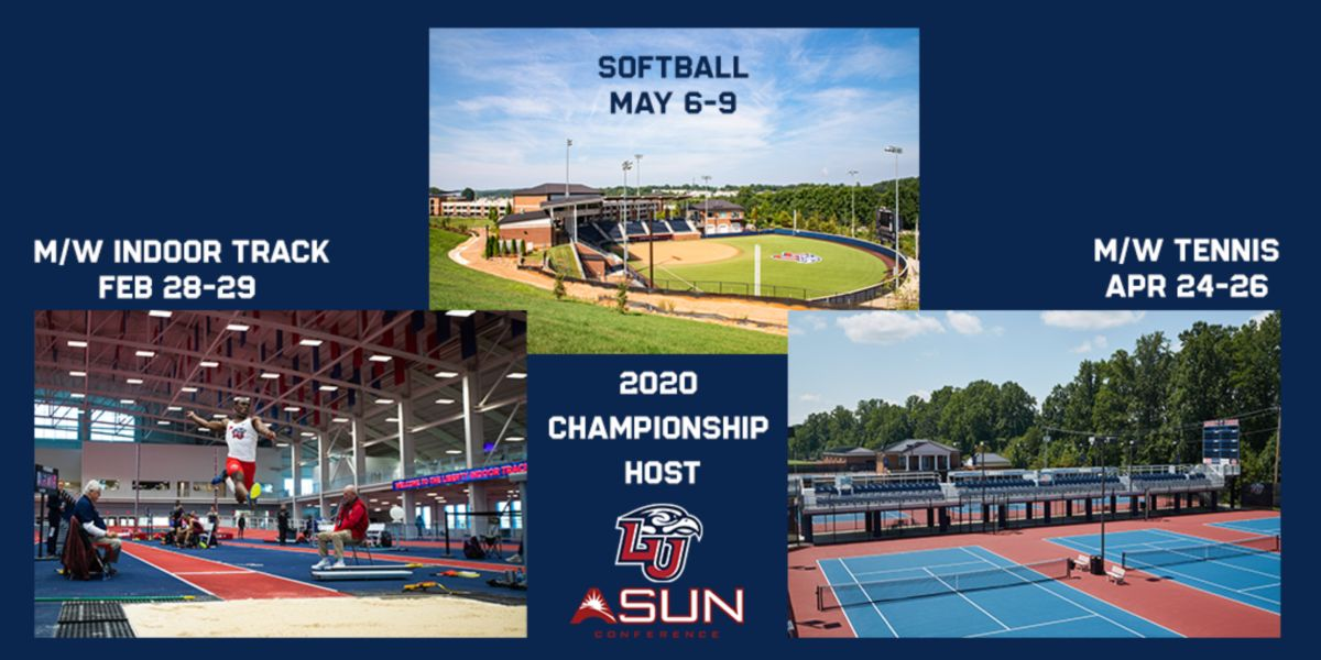 Liberty Set to Host 3 ASUN Championships in 2019-20