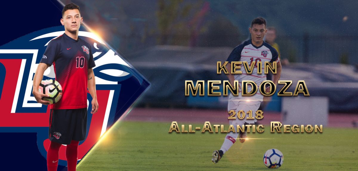 Liberty Midfielder Mendoza Selected to All-Region Team