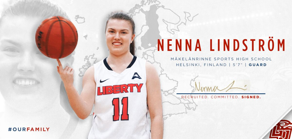 Junior College Sharpshooter Lindstrom Signs with Liberty WBB