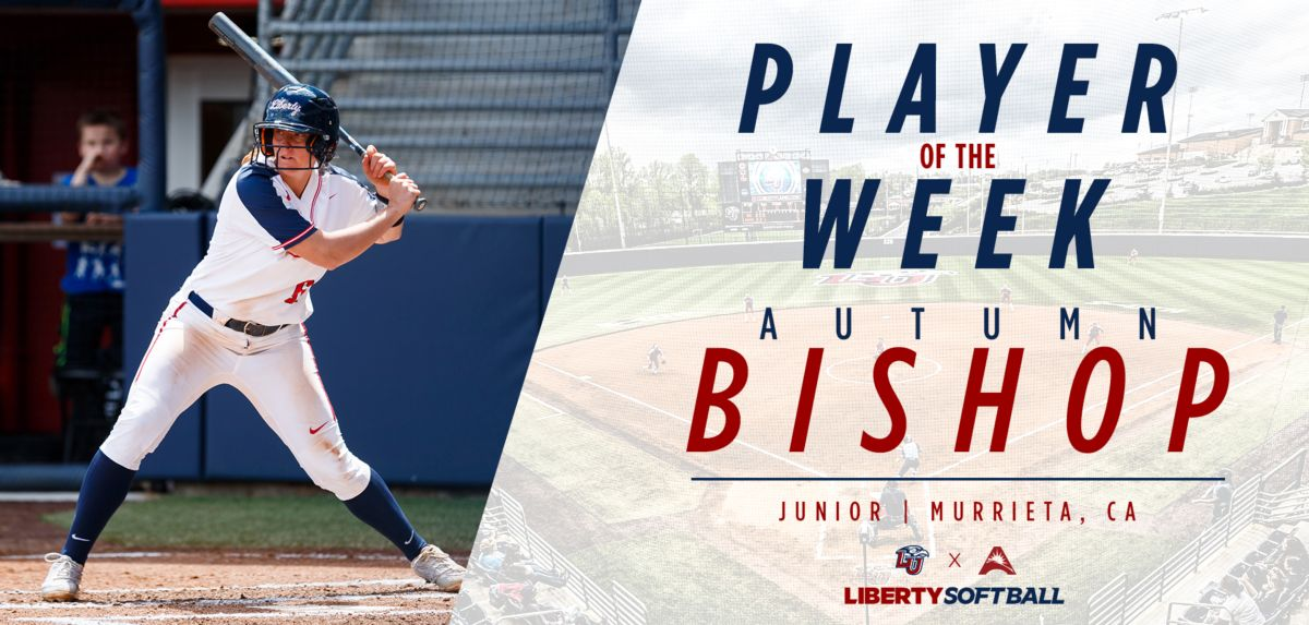 Autumn Bishop was named ASUN Softball Player of the Week.