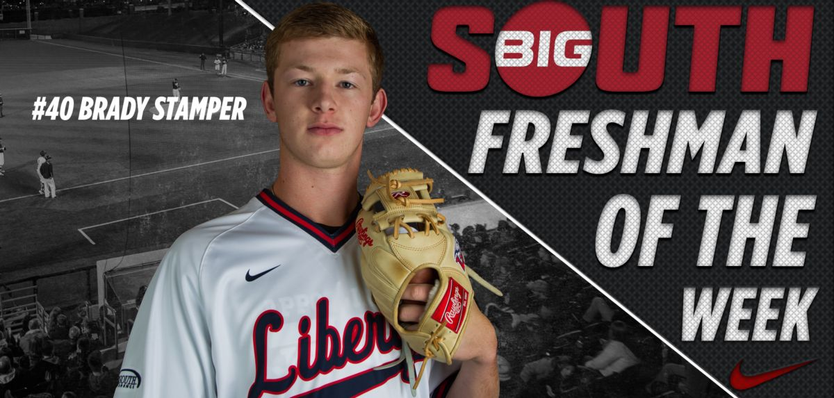 Stamper Named Big South Freshman of the Week