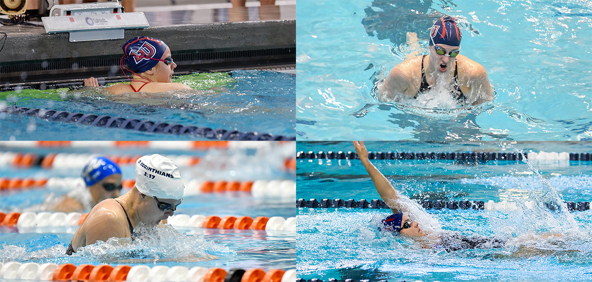 Clockwise from top left: Colleen Donlin, Jessica Schellenboom, Payton Keiner and Mikayla Herich were all named to the VaSID All-State second team.