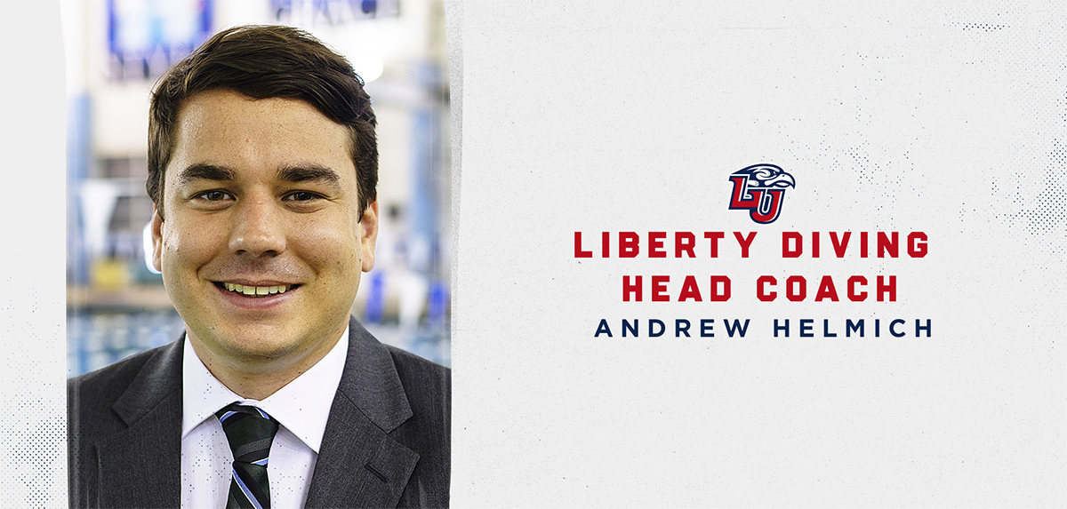 Andrew Helmich was announced as Liberty's head diving coach.