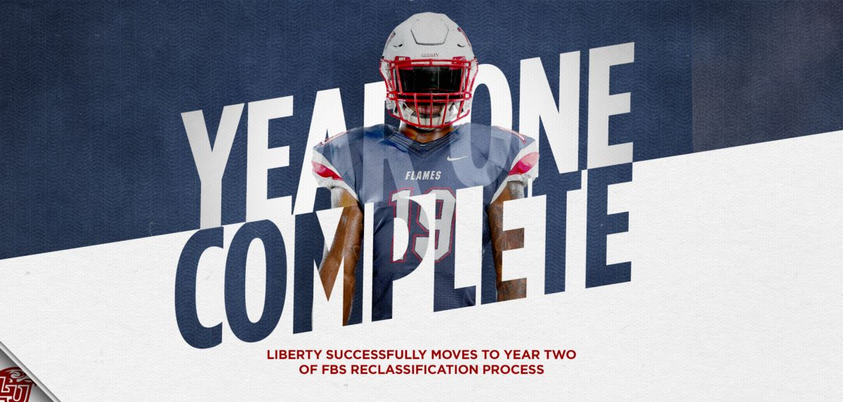 Liberty Successfully Moves to Year Two of FBS Reclassification Process