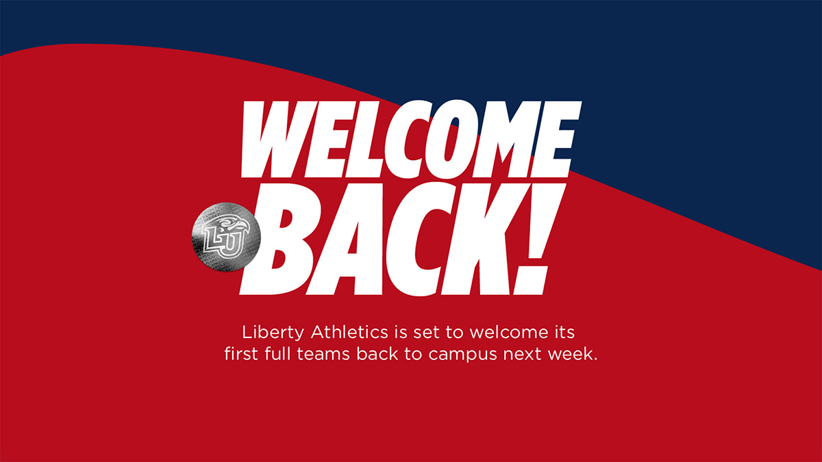 Liberty Athletics is set to welcome its first full teams back to campus next week, beginning the process for student-athletes to return to voluntary workouts.