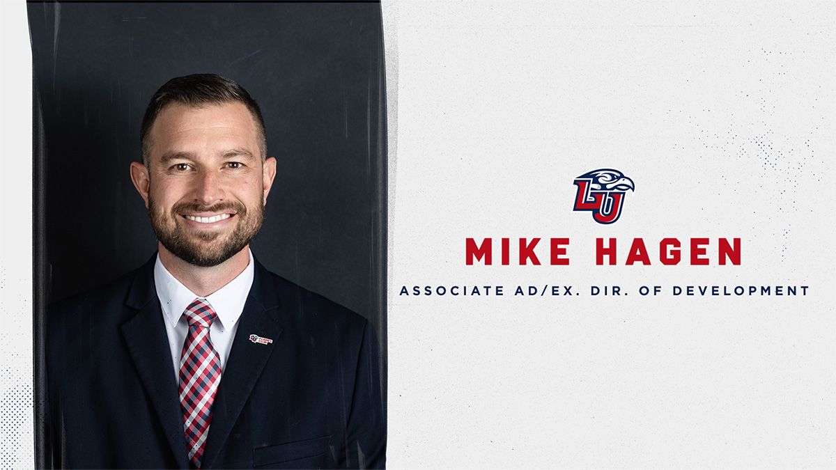Mike Hagen, a Liberty alumni and a seasoned athletics administrator, has been promoted to the position of Associate Athletics Director and Executive Director of Development.