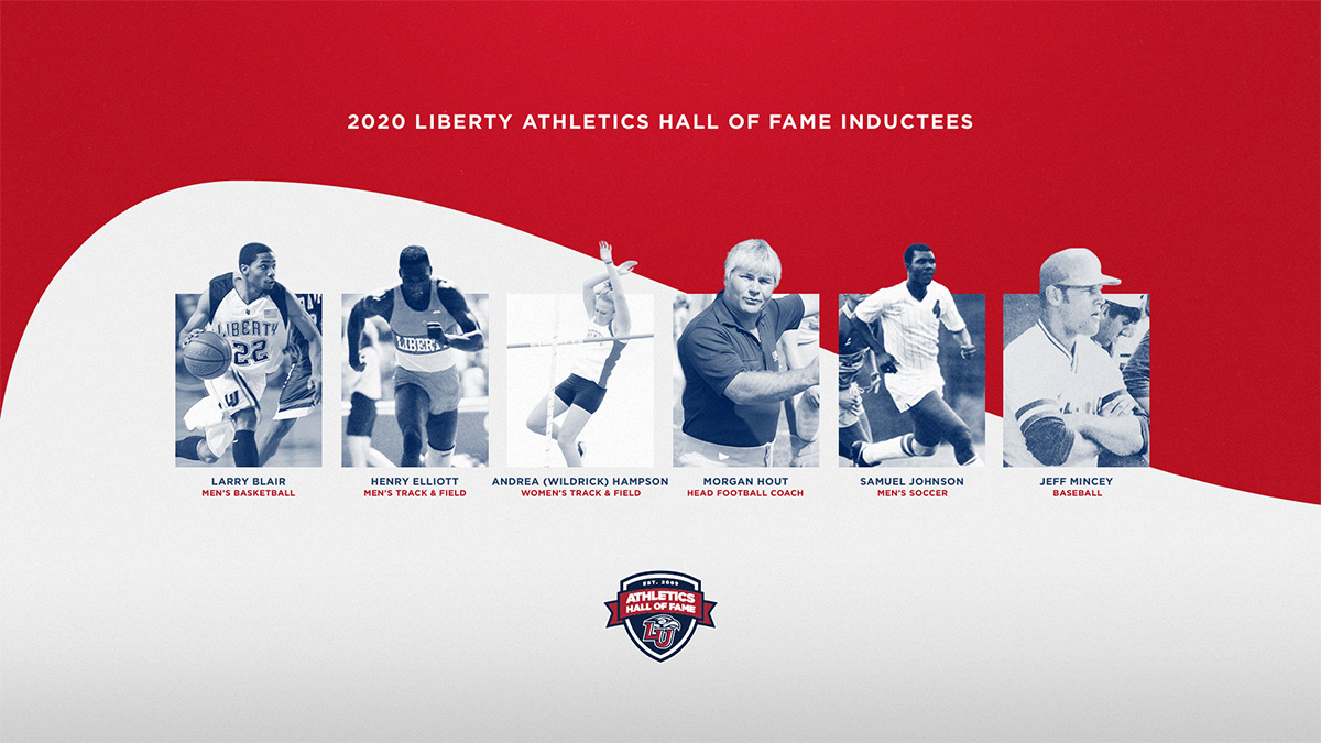 Six new members will be inducted into the Liberty Athletics Hall of Fame during a special ceremony in October.
