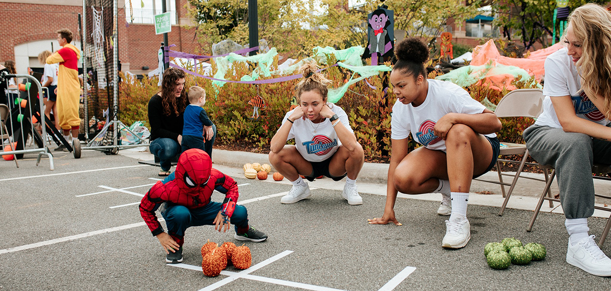 The seventh annual Spooktacular Kids Carnival took place on Oct. 12 at the Liberty Softball Stadium.