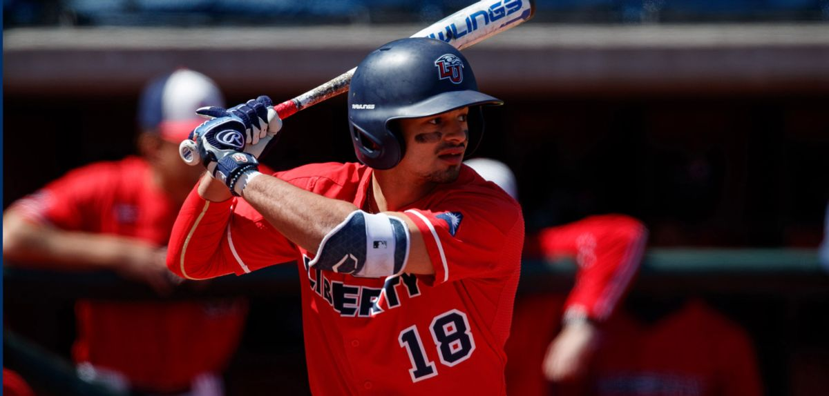 Cam Locklear had four hits, hit two home runs and drove in four runs in win, Sunday.
