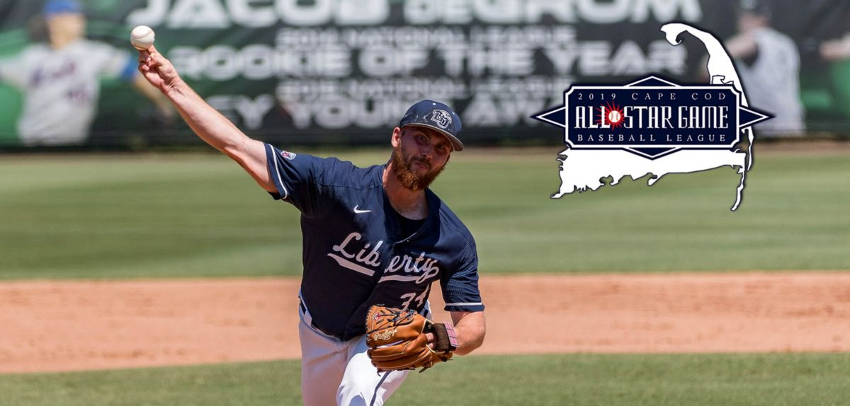 Flames Right Hander Skirrow Named A Cape Cod All Star Liberty Flames