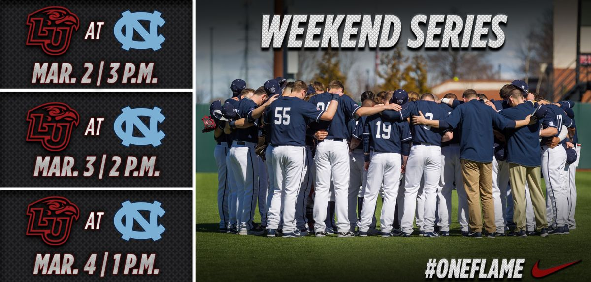 Liberty to Face No. 13 North Carolina in 3-Game Weekend Series
