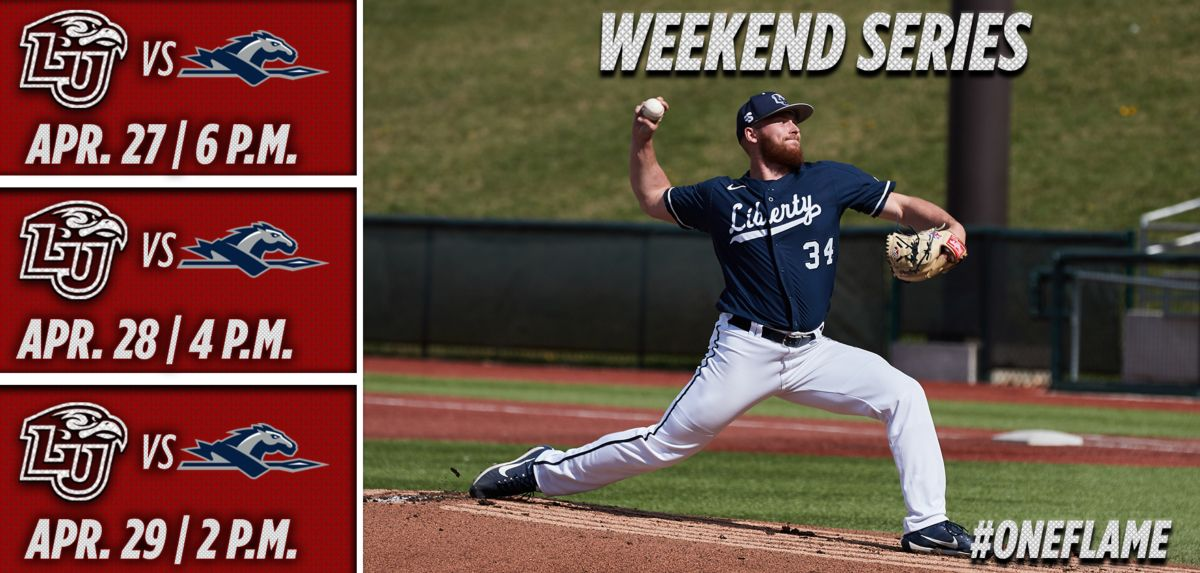 Liberty to Host Longwood for a 3-Game Big South Series, this Weekend