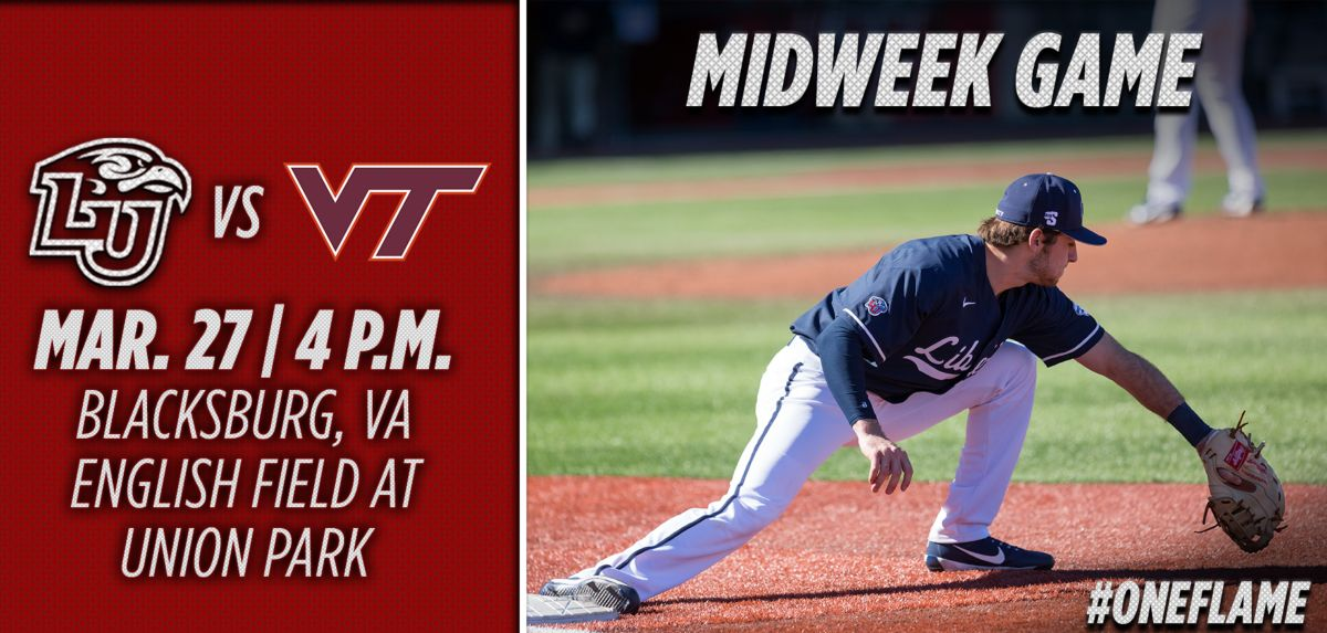 Liberty to Square Off with Virginia Tech in Midweek Tilt, Tuesday