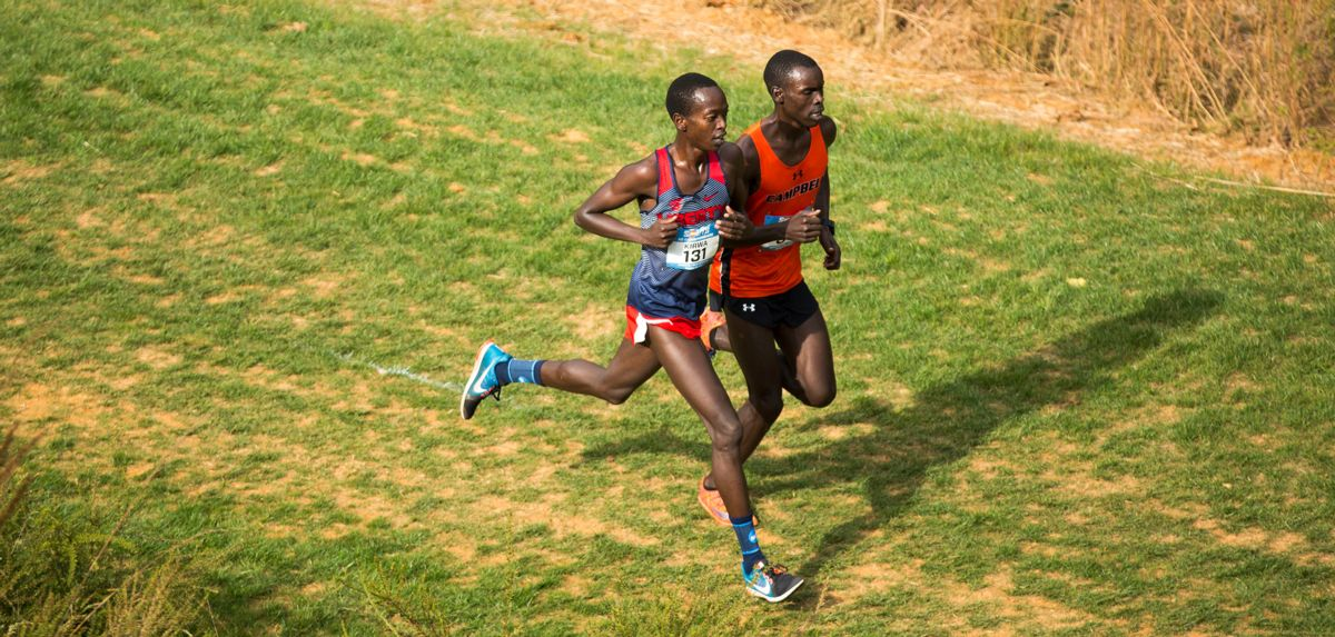 Azaria Kirwa punched his ticket to the 2017 NCAA Division I Cross Country Championships by placing third on Friday.