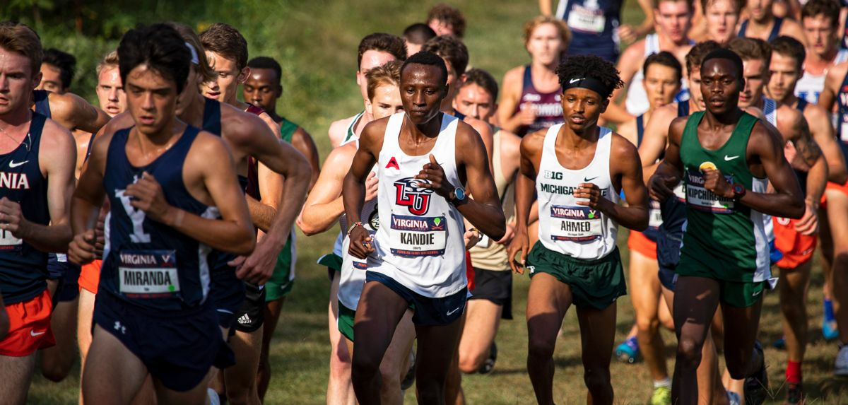 Felix Kandie placed third on Friday, recording the best-ever finish by a Flame at the Virginia/Panorama Farms Invitational.
