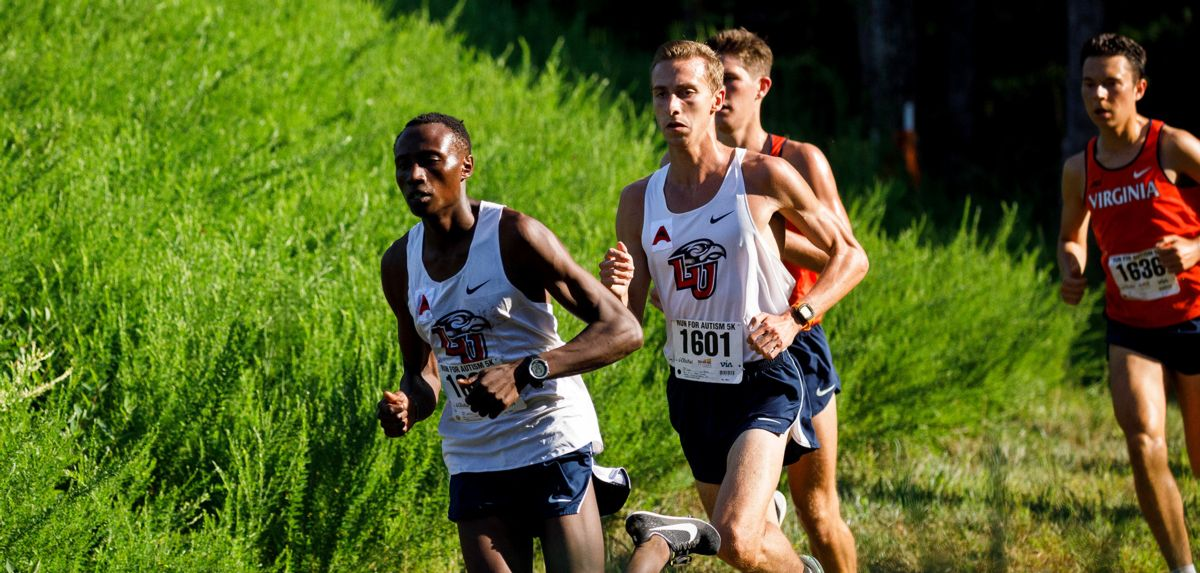 Felix Kandie (left) and Ryan Drew (right) finished 1-2 in the men's 8K at Saturday's FGCU Invitational.