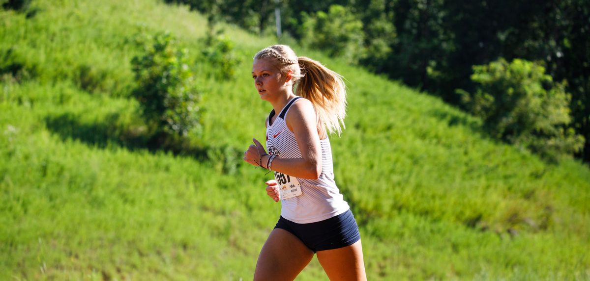 Lauren Hirneisen led the Lady Flames to an 8th-place team finish at the Queen City Invite.