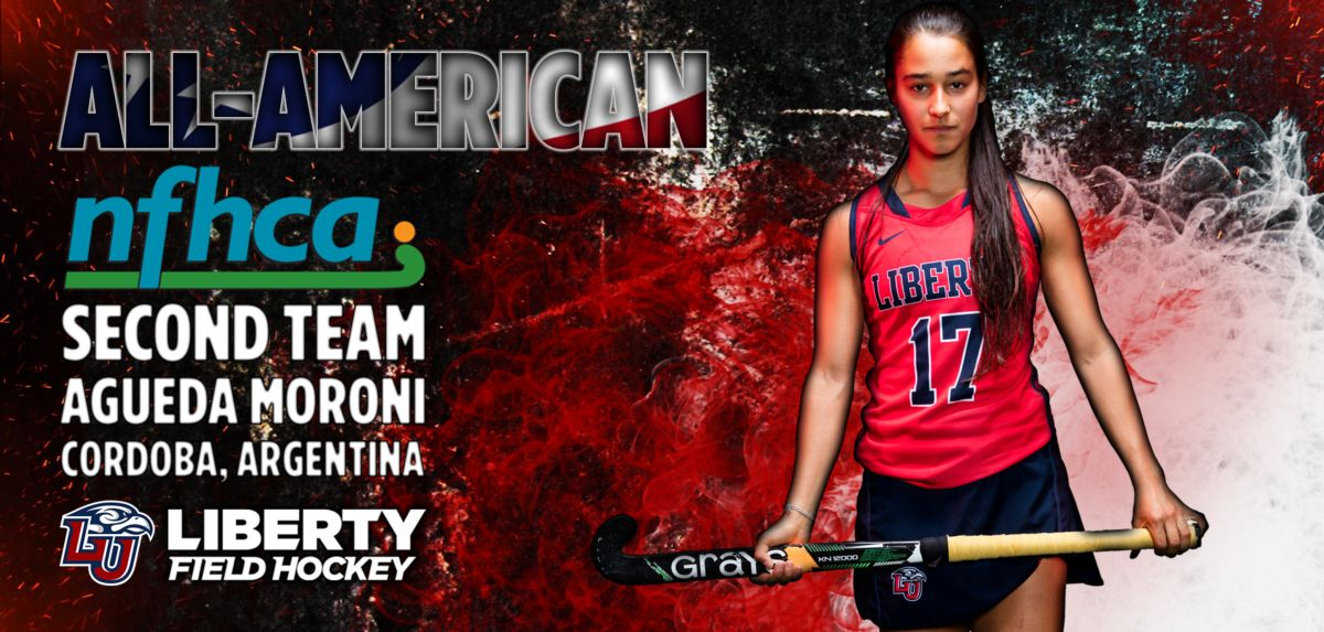 Moroni is the third All-American in Liberty field hockey program history.