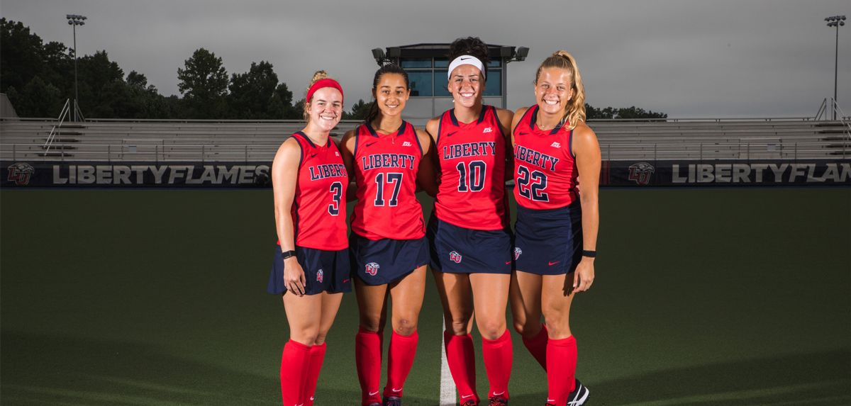 Liberty's four seniors will be honored prior to the start of Sunday's contest.