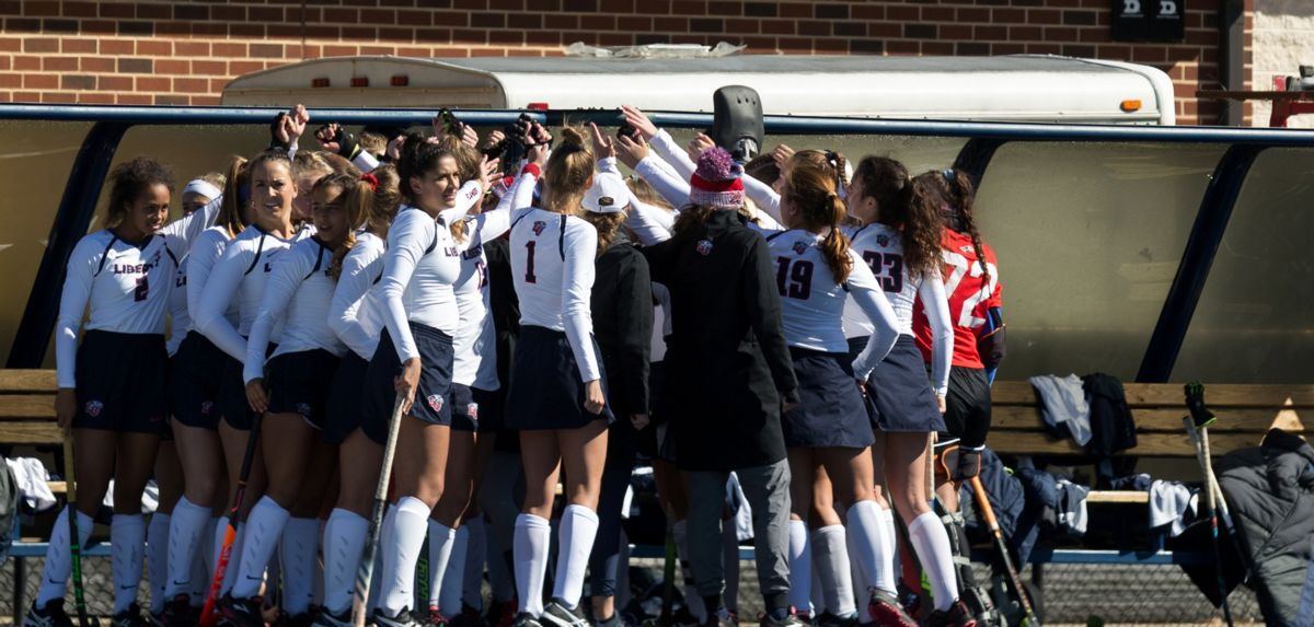 Liberty is the No. 2 seed for the BIG EAST Field Hockey Championship.