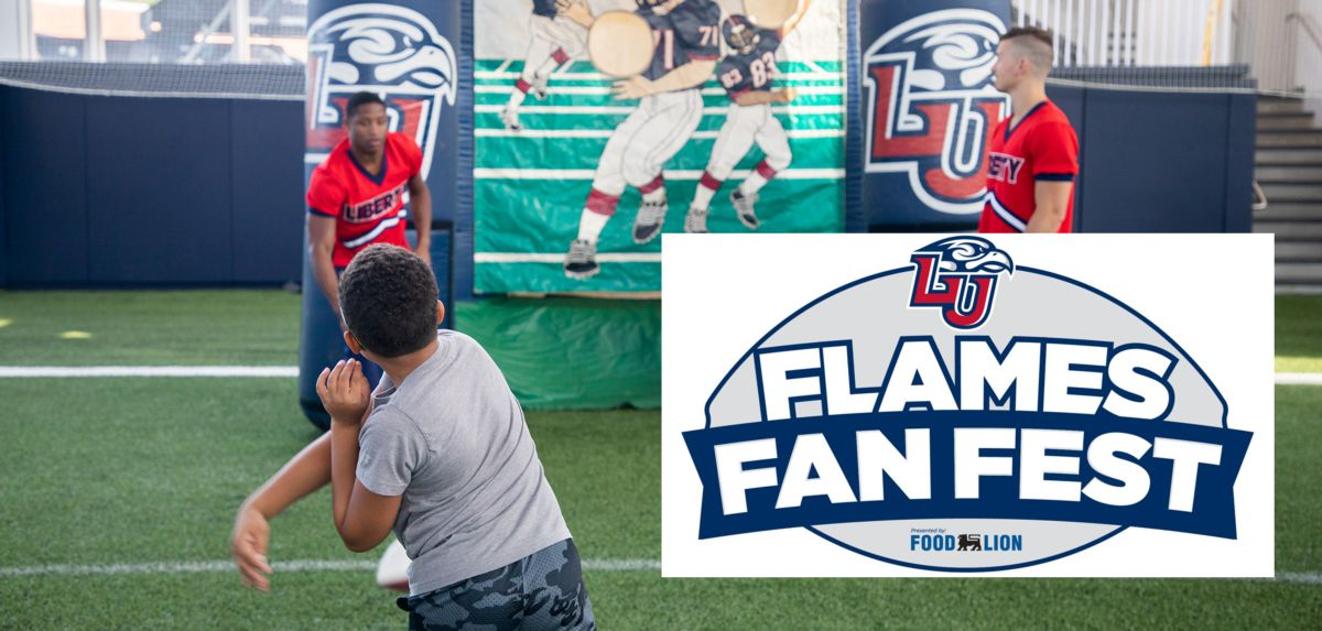 Flames Fan Fest Set for Debut at ODU Game