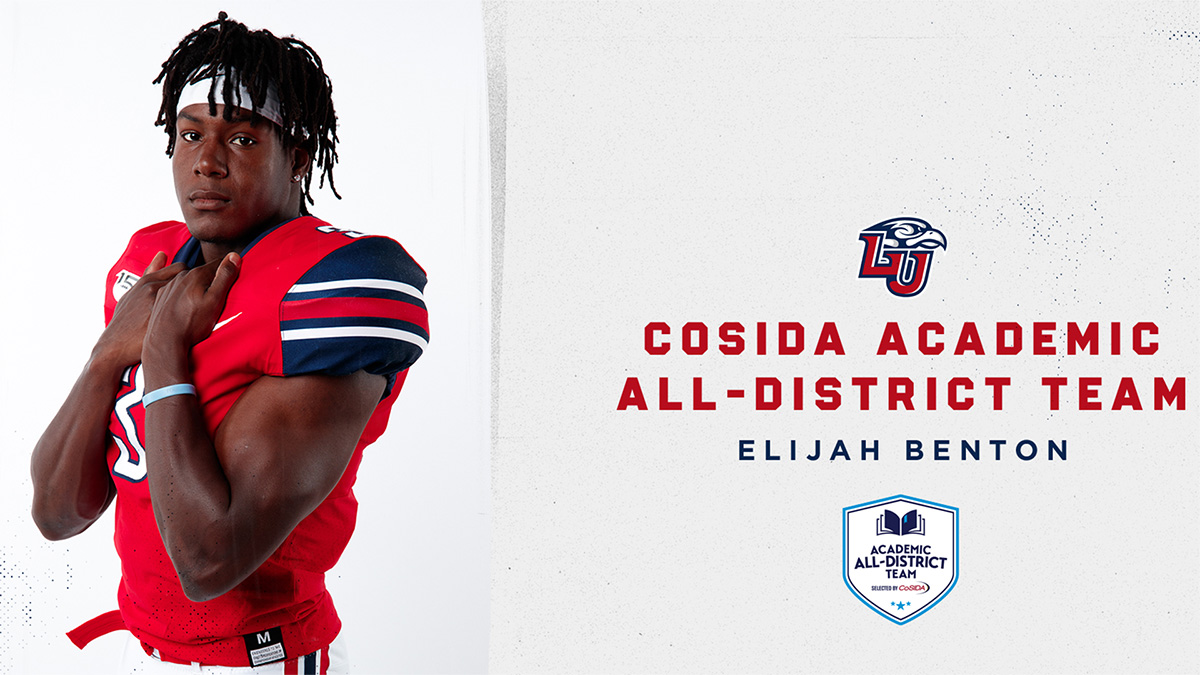 Benton Repeat Selection on CoSIDA Academic All-District Team®