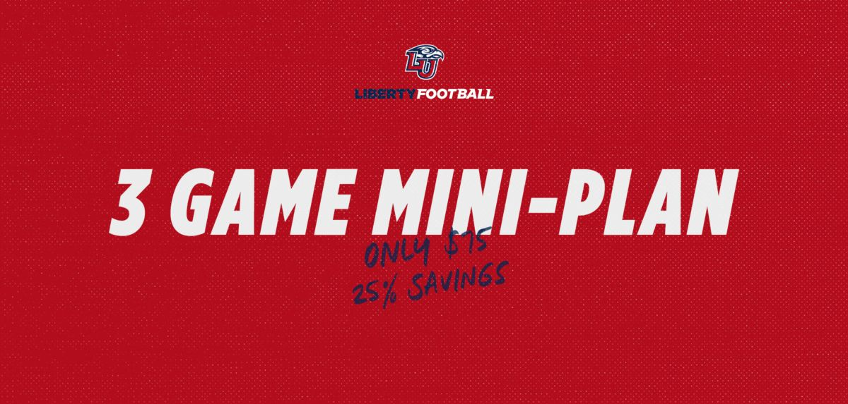 Football 3 Game Mini Pack Tickets Now on Sale