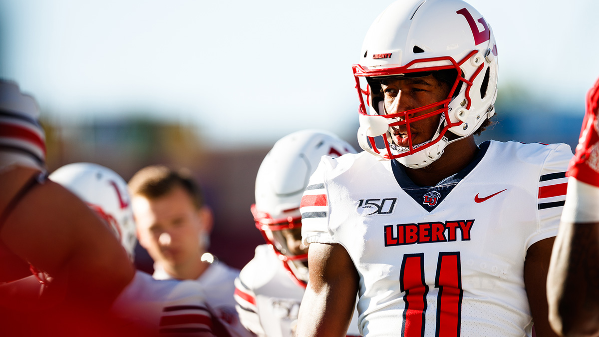 Following an impressive performance at the 2020 Reese's Senior Bowl last weekend, Liberty's Antonio Gandy-Golden will now showcase his talents at the 2020 NFL Combine.