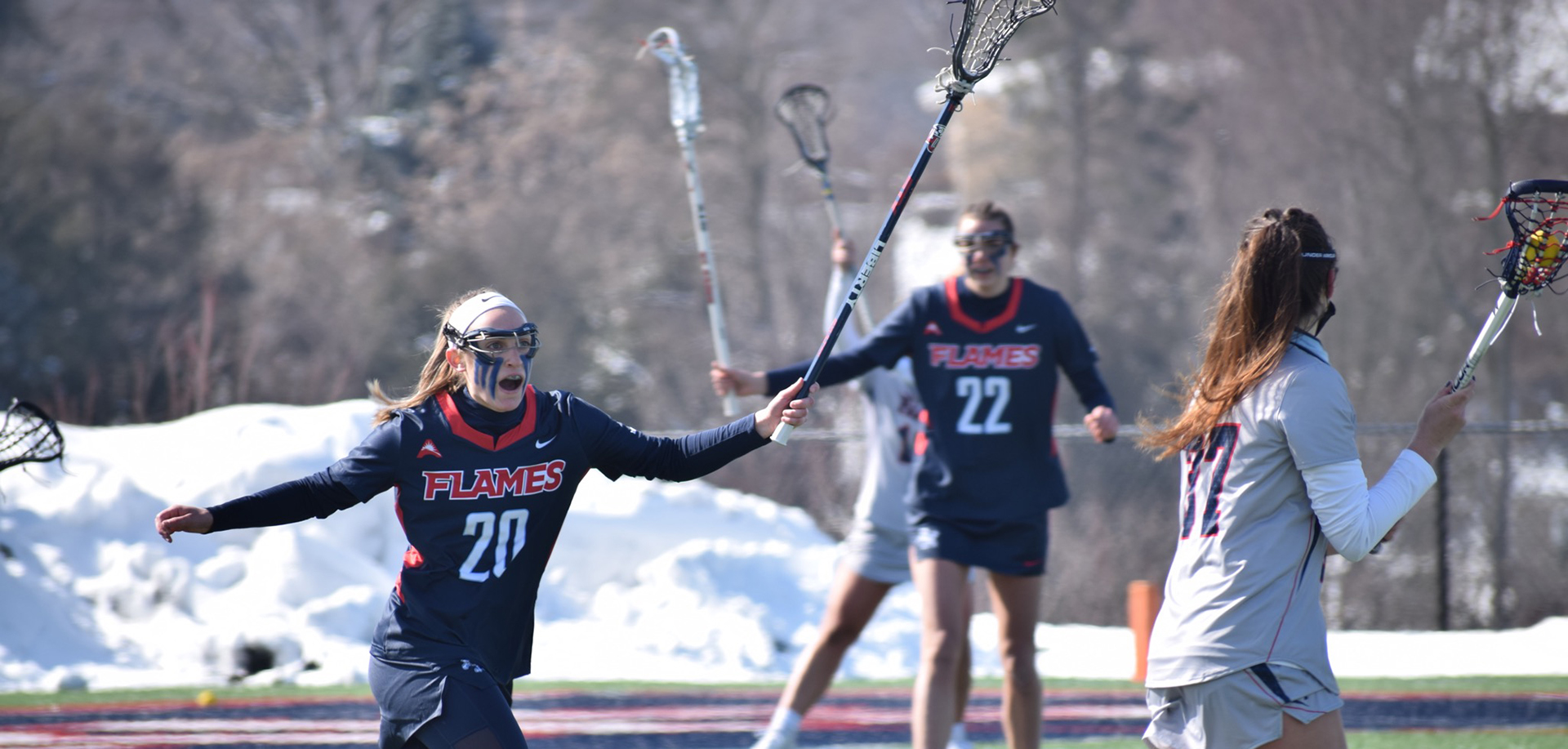 Toscano had three goals for Liberty at Robert Morris.