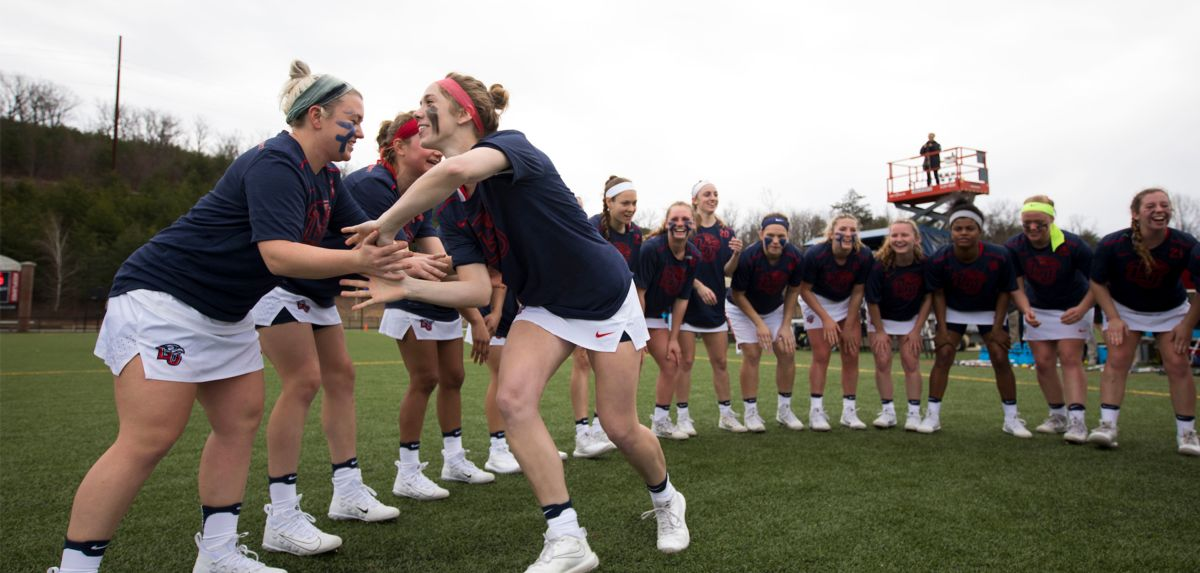 The Lady Flames women's lacrosse team (3-1) takes on Old Dominion (1-1) on Wednesday.
