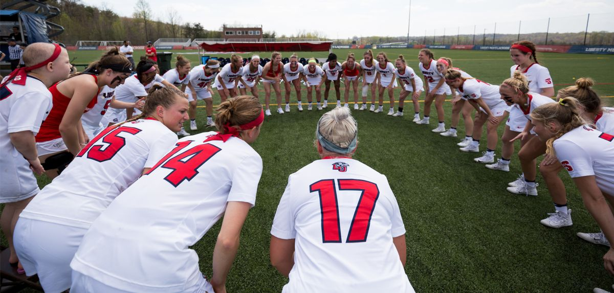 Liberty is the No. 2 seed for the upcoming 2018 Big South Women's Lacrosse Championship.