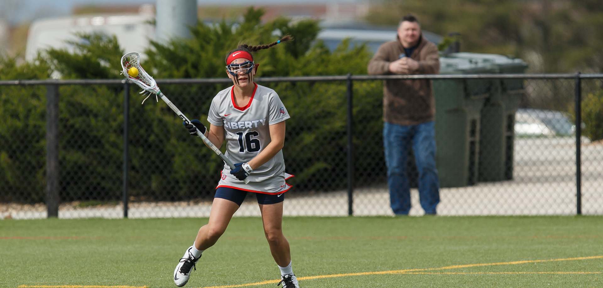 Liberty senior defender Victoria Tickle leads the squad with 28 ground balls and is 35th in the country in ground balls per game (3.11).