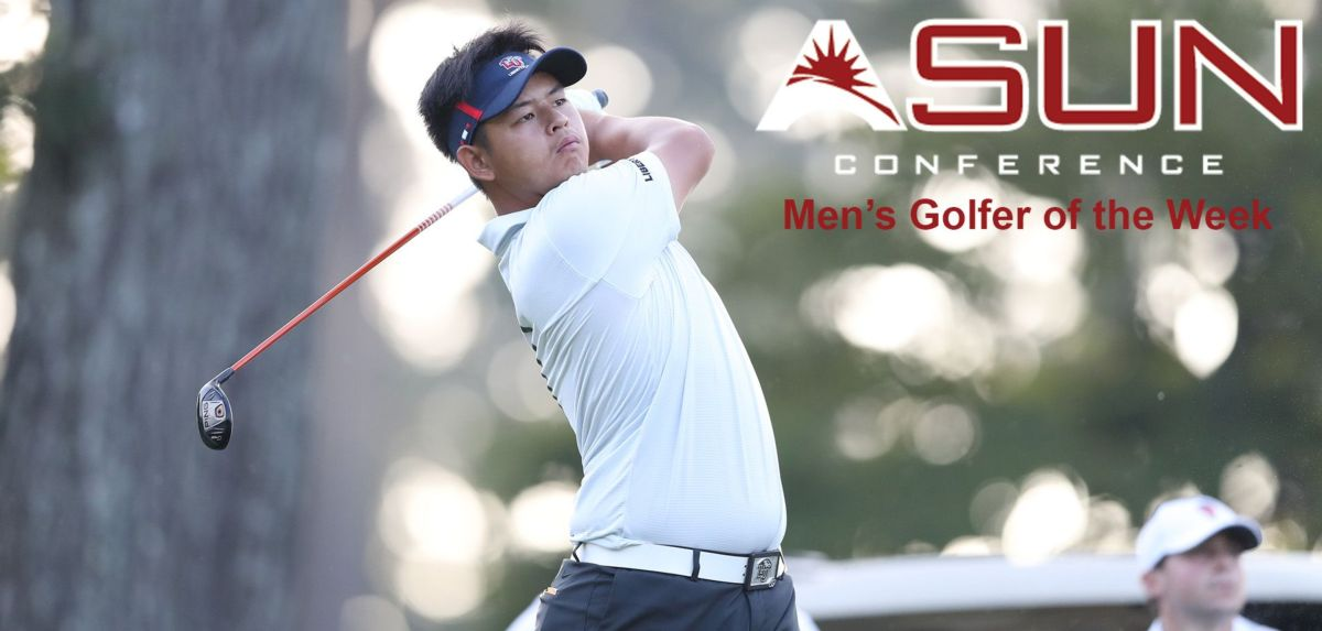 Chang Selected ASUN Co-Golfer of the Week