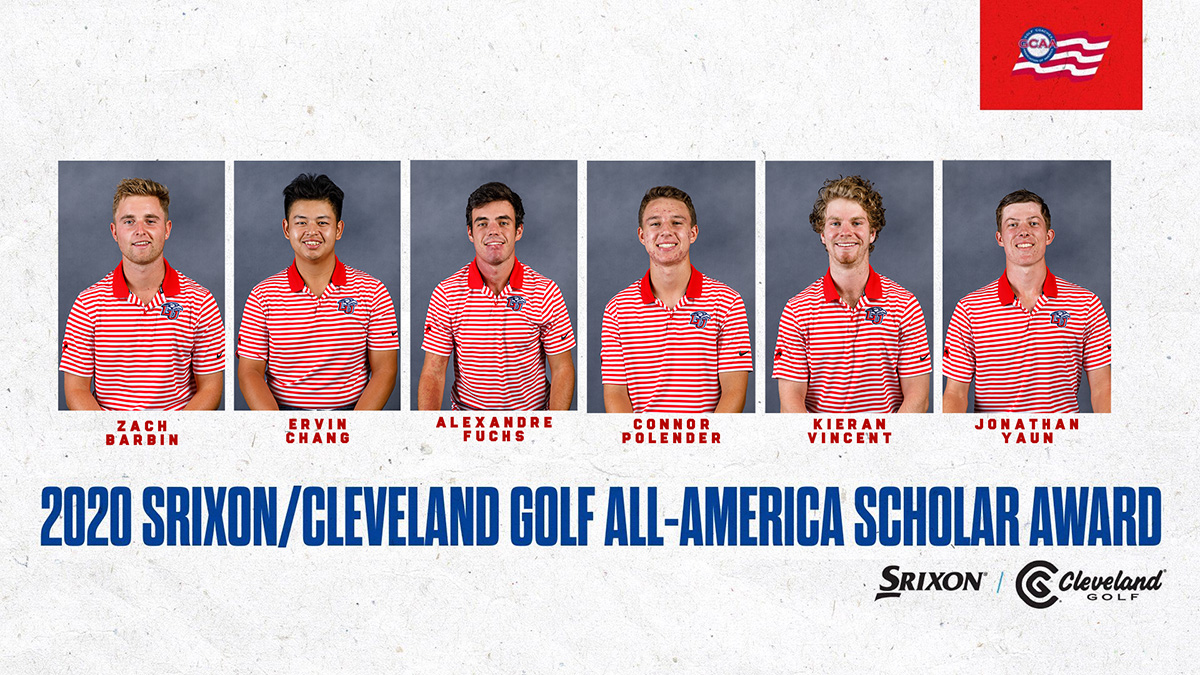 Continuing its strong season both on and off the course, Liberty has placed a record six student-athletes on the 2020 Srixon/Cleveland Golf All-America Scholar team.